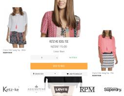 Интернет-магащин брендовой одежды