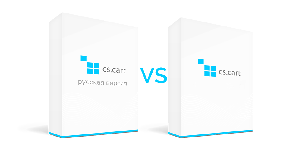 CS-Cart Russian Build and International