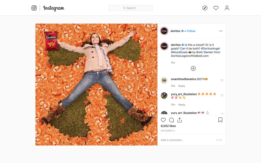 Doritos как пример использования UGC