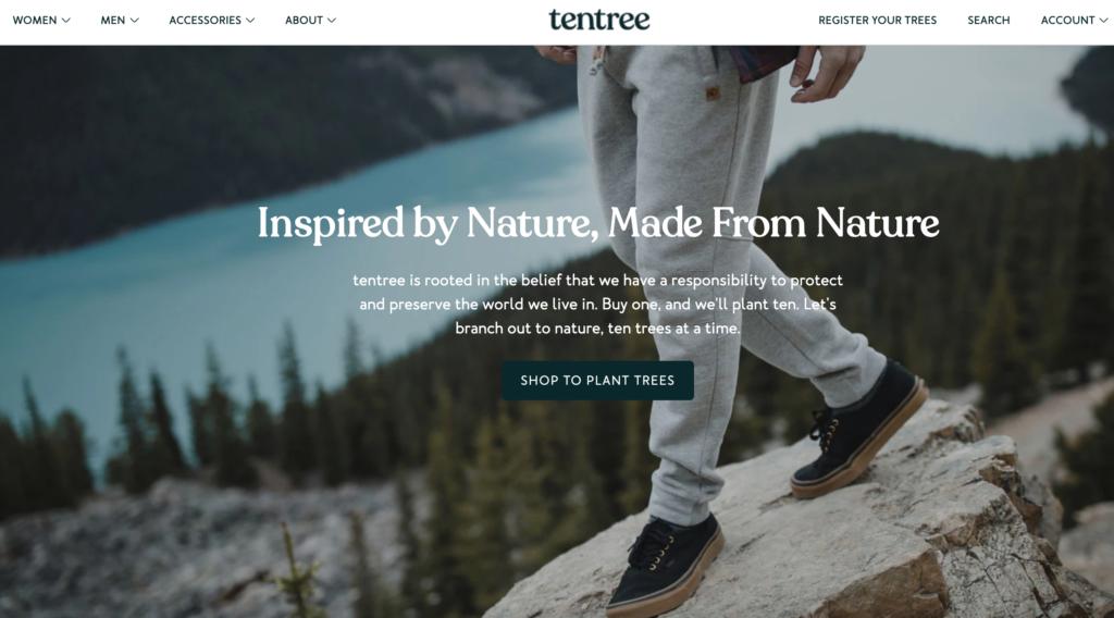Компания Tentree