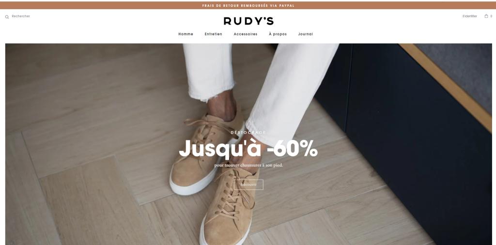 Интернет-магазин Rudy's