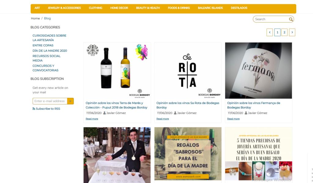 Блог Es Mosaik